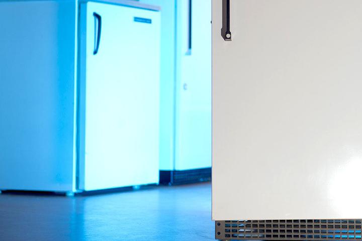 In einem Kühlschrank finden Lebensmittel Platz. Von einer Mutter wurde das Haushaltsgerät zweckentfremdet.