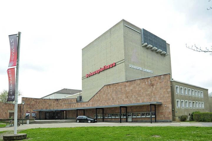 Das Schauspielhaus gehört zum Städtischen Theater Chemnitz gGmbH