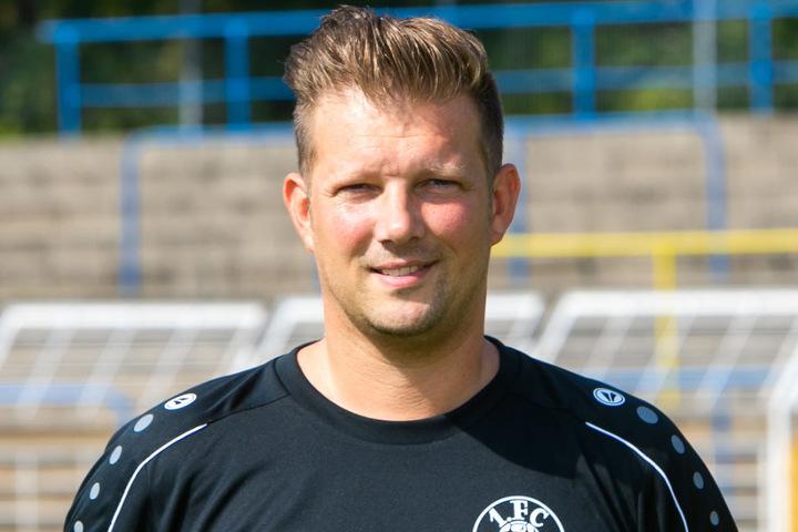 Björn Joppe ist der neue Cheftrainer des 1. FC Lokomotive Leipzig.
