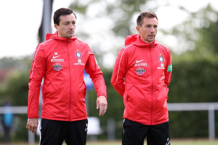 Auch Co-Trainer André Meyer, der Bruder von Daniel, wurde beurlaubt.