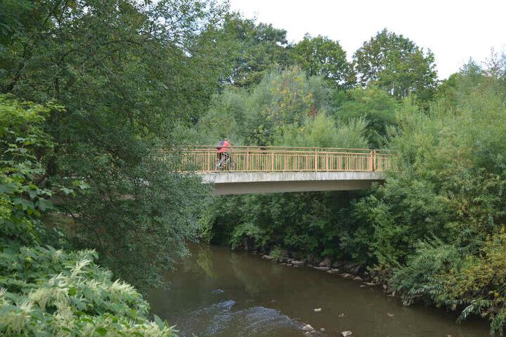 Die Brücke ist bis Anfang Oktober gesperrt.