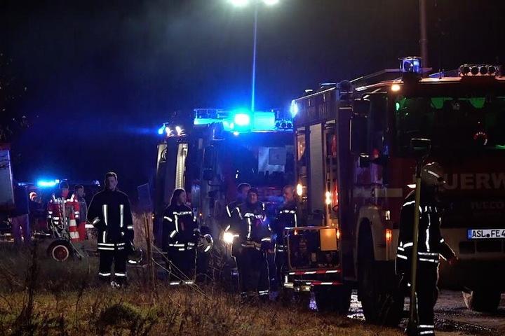Glücklicherweise wurde bei dem Brand niemand verletzt.