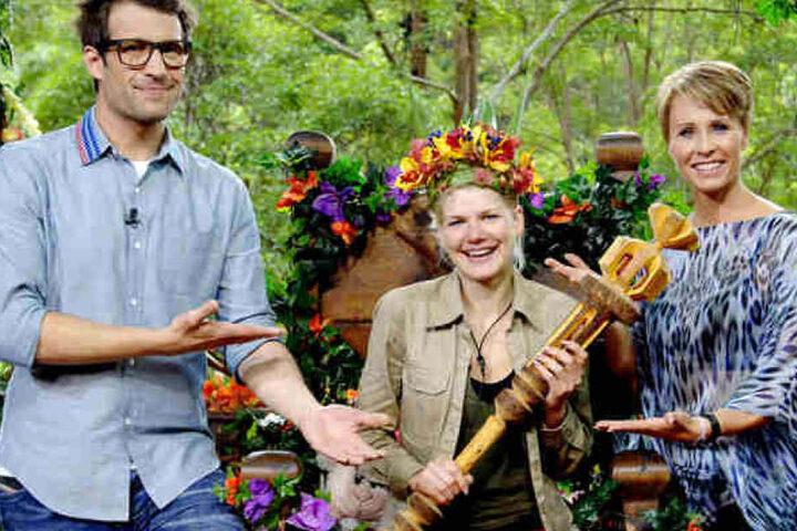 2014 wurde Melanie Müller selbst Dschungelqueen. 2018 ist Jenny Frankhauser ihre Favoriten.