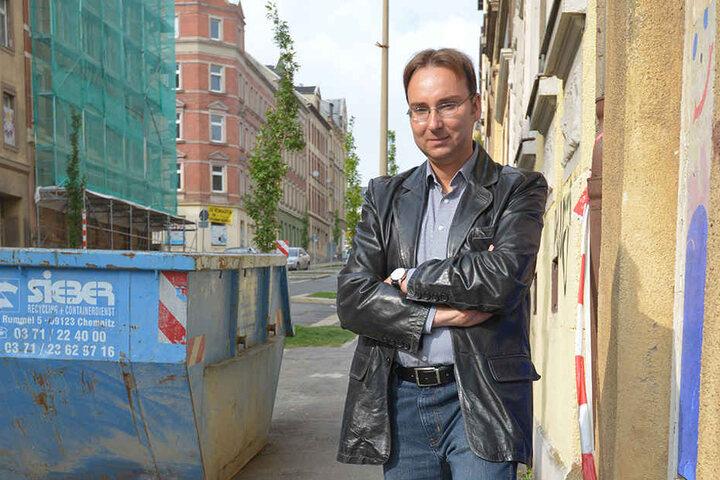 Stadtkenner Sandro Schmalfuß (38) sieht die Pläne kritisch.