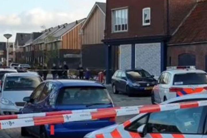 In einem Großhandel für Gartenartikel entdeckte die Polizei die vier Leichen.