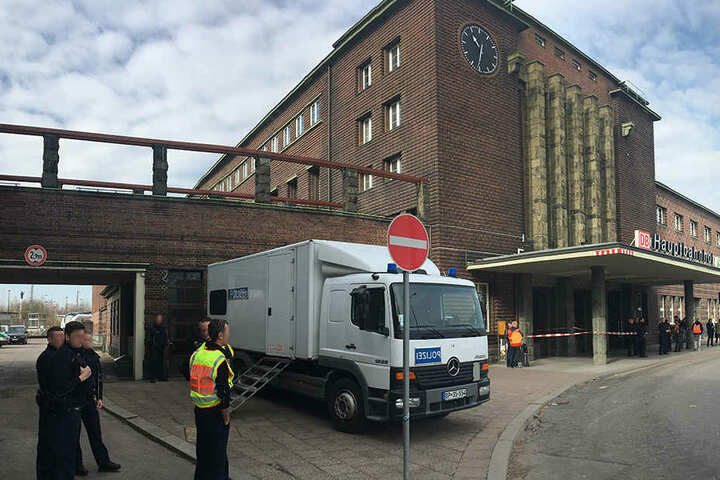 Der Hauptbahnhof in Zwickau ist derzeit dicht.