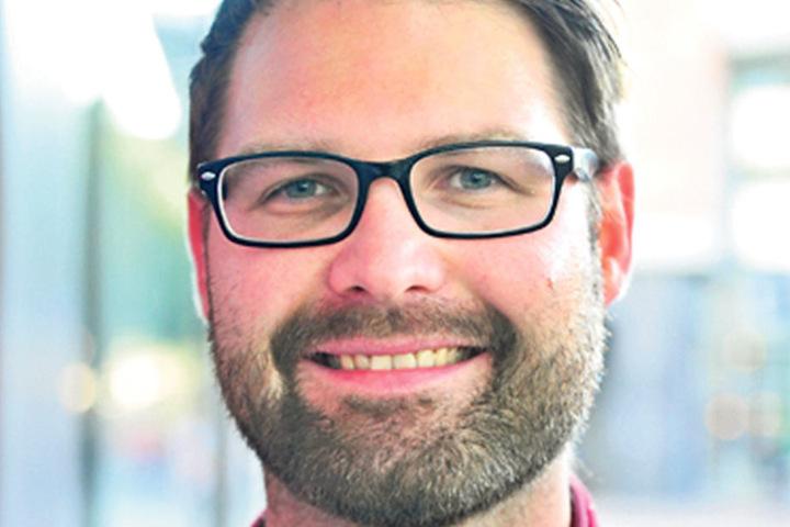 """Matthias Schneider (30), Angestellter aus Freiberg: """"Auf jeden Fall gehe ich wählen, bin aber noch am überlegen. Der Wahl-O-Mat legt mir die FDP nahe. Aber ich will eher eine Partei, die Bildung unterstützt und Arbeitnehmerrechte fördert!"""""""