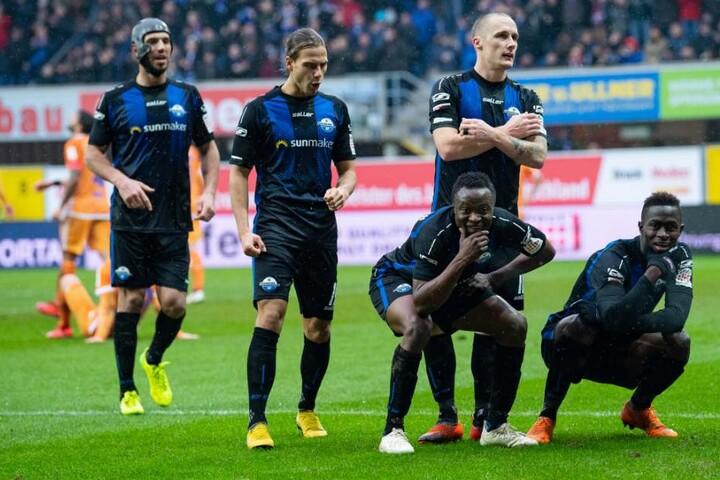Der SC Paderborn überwintert nach einem 6:2-Sieg über den SV Darmstadt 98 auf dem siebten Tabellenplatz.