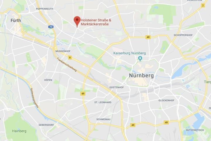 In Nürnberg ist es nach einem leichten Unfall zu einem erschreckenden Zwischenfall gekommen.