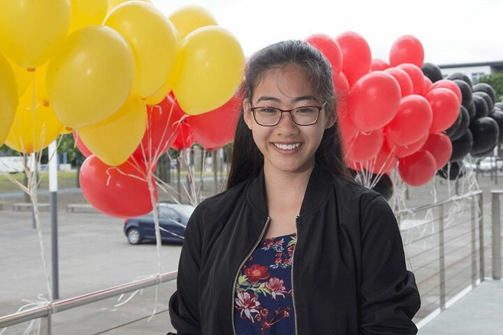 Thuyvy Tran (17) hat vietnamesische Wurzeln und einen deutschen Pass.