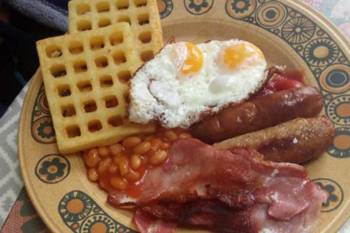 Am Ende gab es Doppeldotter-Spiegeleier zum Frühstück.