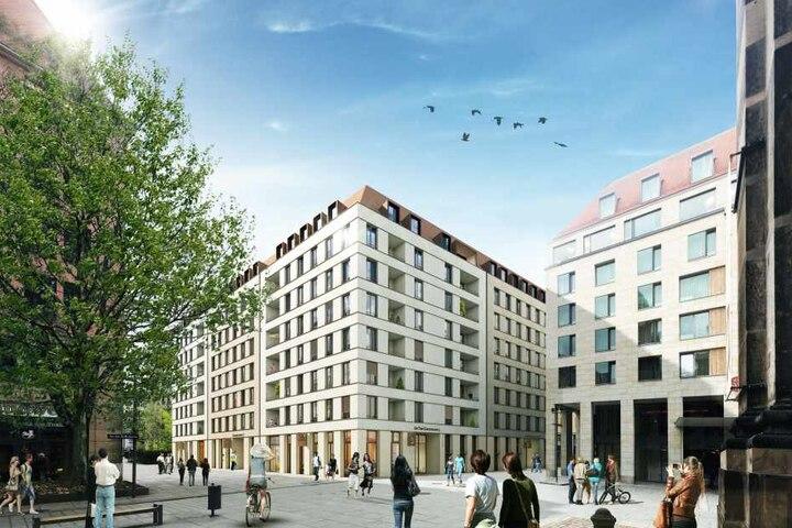 Revitalis baut an der Kreuzkirche insgesamt 200 Wohnungen.