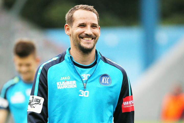 Anton Fink spielt jetzt für den Karlsruher SC.