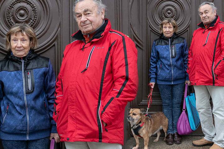 Klaus H. (85) will mit seiner Lebensgefährtin nur in Ruhe dem gemeinsamen Hobby nachgehen.