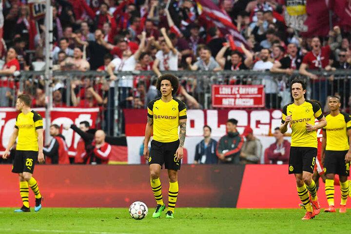 Wie im falschen Film: Der BVB ging im ersten Abschnitt beim FC Bayern München unter.