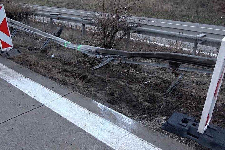 Die Unglücksstelle wurde nach den Bergungsarbeiten abgesperrt und die Autobahn wieder freigegeben.