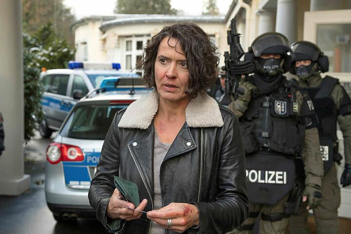 Die Ermittlerin aus Ludwigshafen Lena Odenthal. Sie arbeitet seit fast 30 Jahren als Kommissarin und hat damit die längste Dienstzeit.