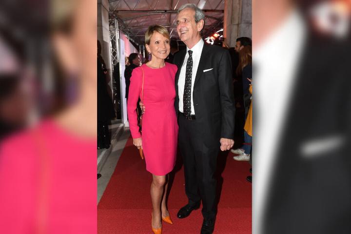 Die Schauspielerin Uschi Glas und ihr Mann Dieter Hermann.