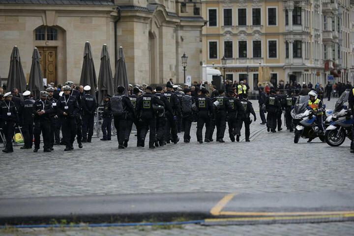 Die Polizei sah durch den Protest den zeitlichen Ablauf nicht gestört.