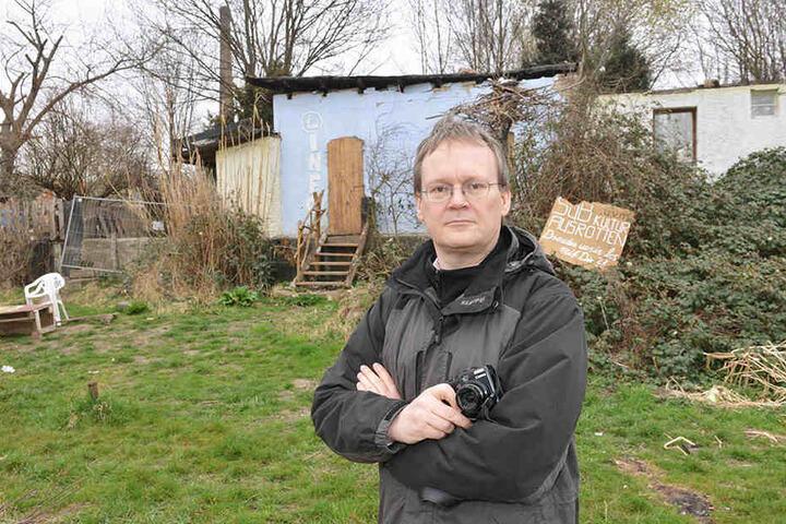 Fordert Hilfen für die Mieter und kritisiert die Stadt: Tilo Wirtz (50, Linke).
