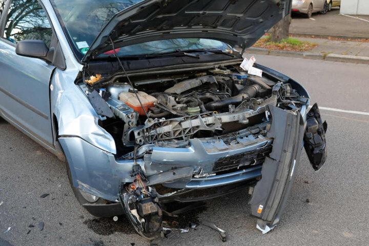 An dem Ford entstand Totalschaden.