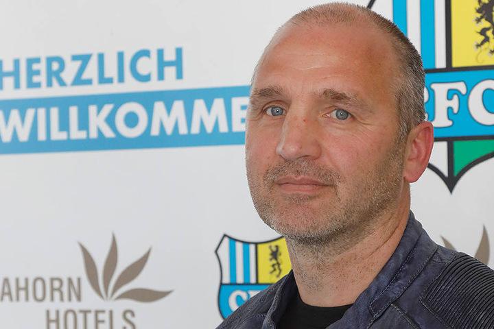 Steffen Ziffert hat am Mittwoch seine Arbeit beim CFC aufgenommen.