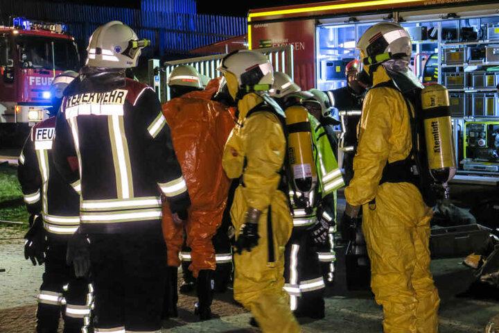Ein Großaufgebot der Feuerwehr war vor Ort.