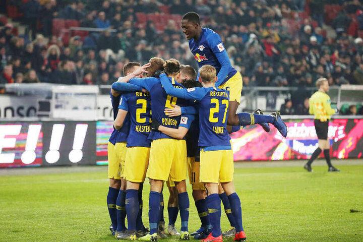 Das Team von RB Leipzig feierte den zweiten klaren Auswärtssieg in Folge.