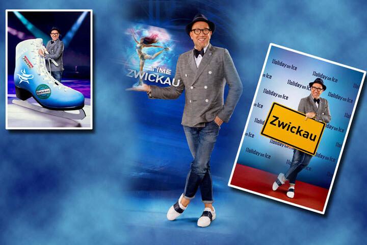 """Star-Designer Thomas Rath (49), bekannt aus """"Germany's next Topmodel"""", hat die Kostüme für die """"Time""""-Show entworfen."""