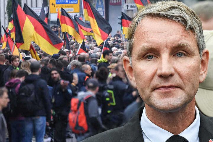 Die Staatsanwaltschaft Chemnitz leitet gegen den Thüringer AfD-Fraktionschef Björn Höcke ein Ermittlungsverfahren ein.
