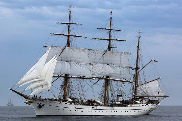 Das Segelschulschiff Gorch Fock.