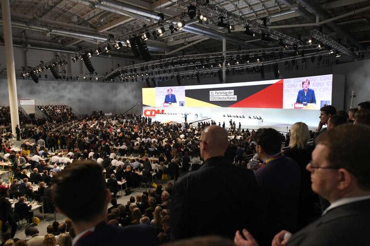 Rund 1500 Gäste haben sich zum 31. Parteitag der CDU eingefunden.