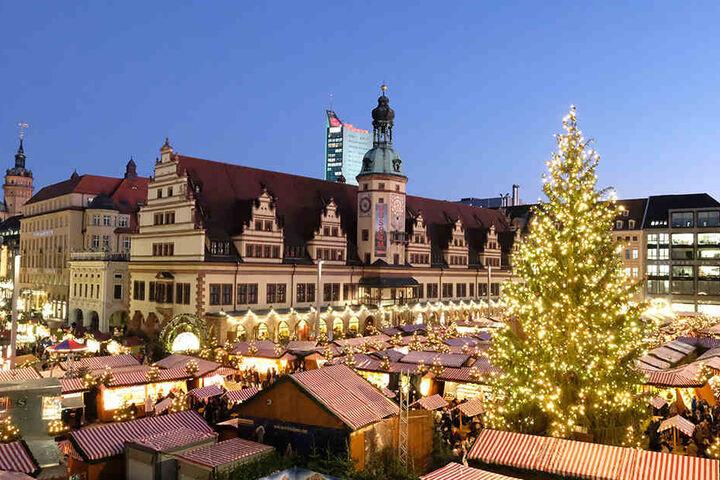 Der Leipziger Weihnachtsmarkt 2018 geht vom 27. November bis 23. Dezember.