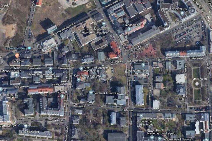 Der Vorfall soll sich auf der Chopinstraße ereignet haben.