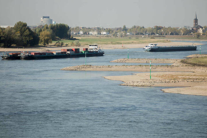 In den kommenden Tagen sollen dann wieder Mittelwasserstände erreicht werden.