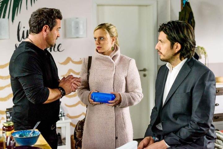 Marian (Sam Eisenstein, l.), Lena (Juliette Greco), Maximilian (Francisco Medina).