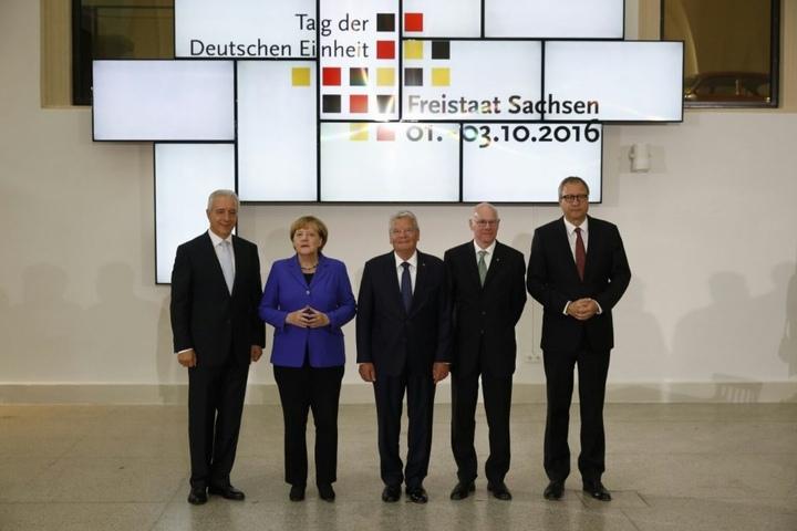 Die Delegation im Verkehrssmuseum.