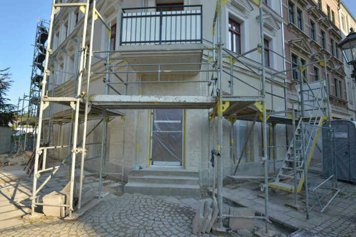Noch ist das Gebäude in der Hauptstraße, in dem das Restaurant entsteht, eine Baustelle.