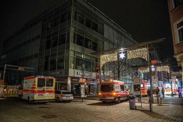Die Reizgasattacken auf mehrere Menschen haben in der Bahnhofstraße in Esslingen stattgefunden.