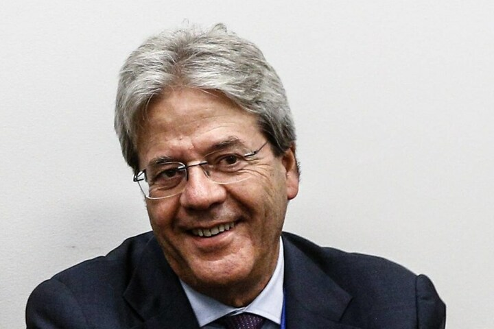 Italiens Außenminister Paolo Genitloni.