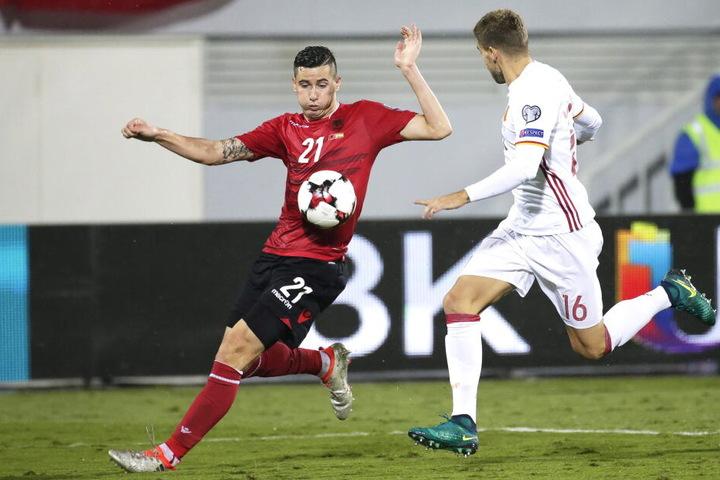 Odise Roshi (27) ist Stammspieler der Nationalmannschaft Albaniens.