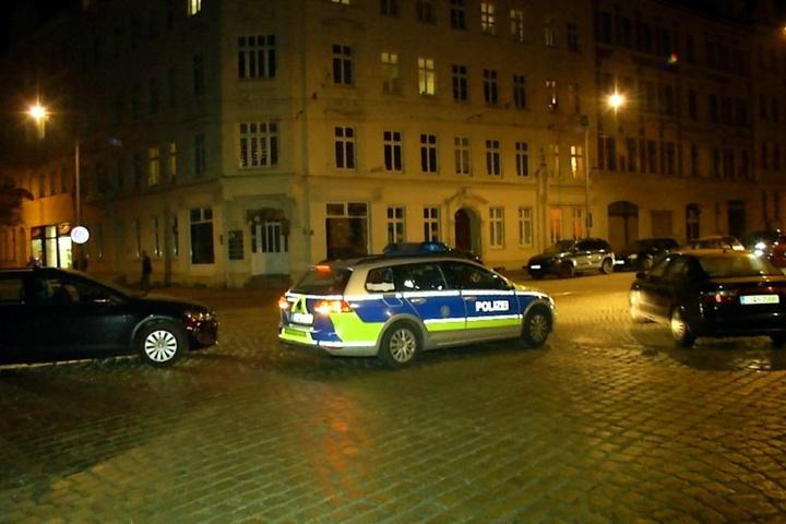 Die Sattigstraße wurde vorsichtshalber abgesperrt.
