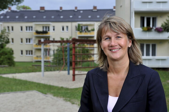 46 Millionen Euro, so viel steckt die GGG 2017 in ihre Wohnungen. GGG-Chefin  Simone Kalew (53) hat viel vor.