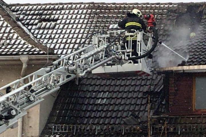 Die Feuerwehr konnte den Brand schnell unter Kontrolle bringen.