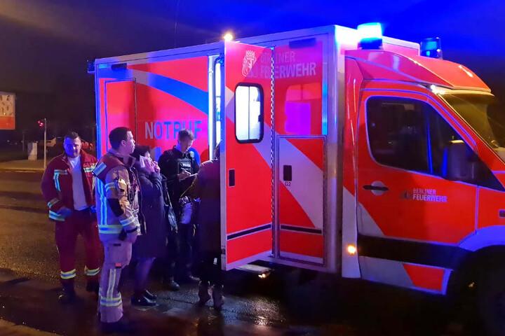 Nach ersten Angaben gab es fünf Verletzte.