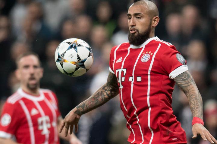 Arturo Vidal könnte den FC Bayern München in Richtung Spanien verlassen.