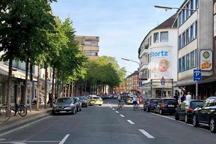Ein Streit zwischen vier Männern war am Dienstag in Köln eskaliert.