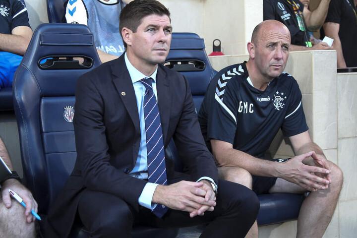 Steven Gerrard ist seit Sommer 2018 Rangers-Trainer.