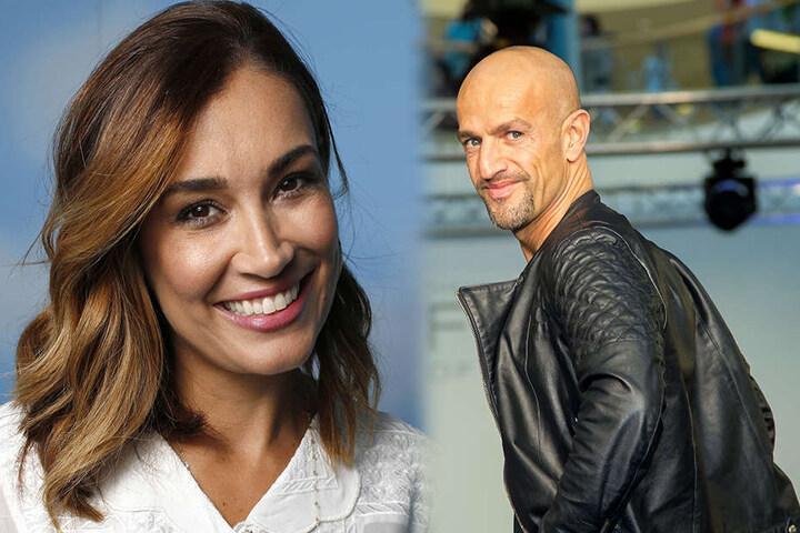 Model jana Ina Zarella (39) und Model-Coach Peymin Amin (45) entscheiden im Finale, wer gewinnt.