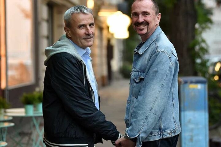 Sie sind das erste homosexuelle Paar Deutschlands, das heiraten wird.